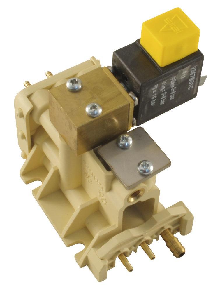 Распределительный блок электроклапанов для блока инструментов врача, установка A3 Plus